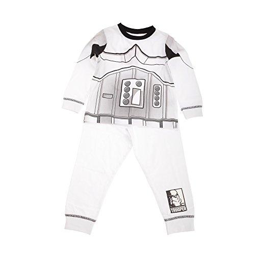 Star Wars - Ensemble pyjama à capuche - Garçon Blanc