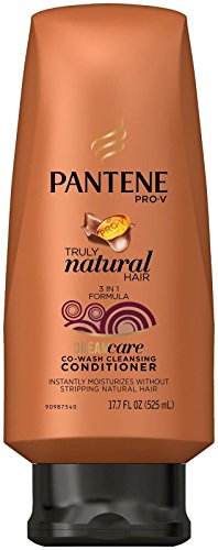 Pantene Pro v Truly Natural Co wash