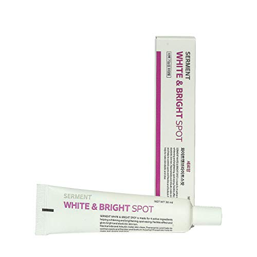 - Korean Cosmetics Serment White and Brigh Spot cream 30ML 4 major Ingredients with ASL technology for Remove face dark spots, freckles and face tone recover,Blemish treatment