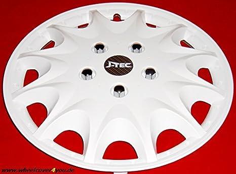 J-Tec 4 Tapacubos Tapacubos para Fiat Ducato/HYMER/Peugeot/Citroen