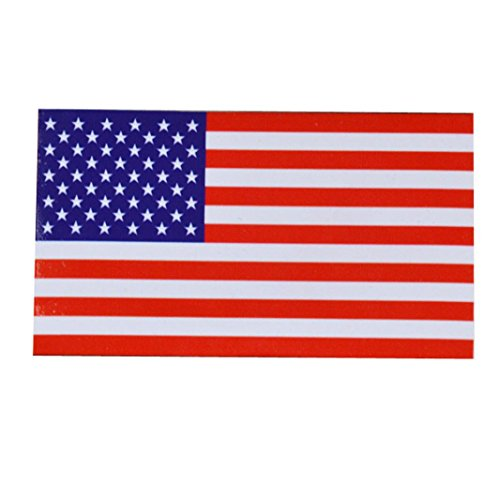 (Gbell Flags Decal American Flag Sticker for Car Window, Laptop, Motorcycle, Walls, Mirror and More (C) (A))