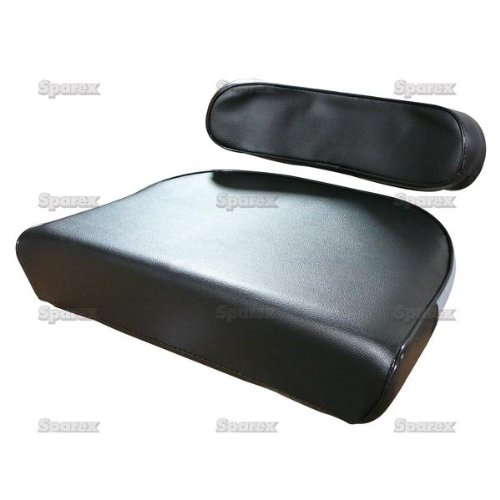 Massey Ferguson Seat Cushion & Backrest TE20,TEA20,TO20,TO30,TO35, MF: F40, MH50, MF50 w/ Deluxe Seat, MF35, 50, 65, 85, 88, 98, 135, 150, 165, 230, 235, 240, 245, 250, 265, 283, 333, 444, 555, Ind. 20, 20C, 20D by Massey Ferguson
