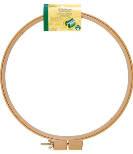 Price comparison product image Dritz Quilting No-Slip Hoop,  12-Inch