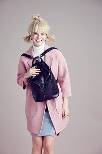 la série Sac Irrégulier Noir Mode Simple Vogue Cuir Dos Fashion 01A style en Filles Individualité Barbie Femmes Loisir en noir de à de BBBP093 PU x0nqSdYA
