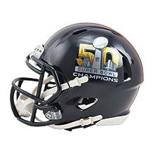 NFL Denver Broncos Super Bowl 50 Champions Speed Mini Replica Helmet