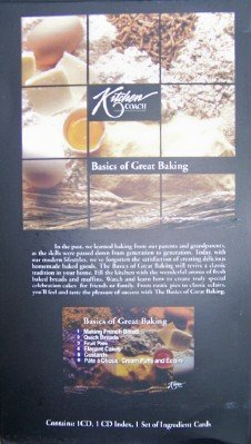 Kitchen Coach: Basics of Great Baking CD Boxed Set!