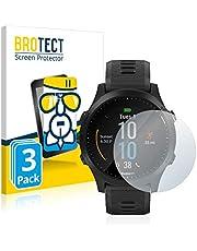 BROTECT Glas Screenprotector compatibel met Garmin Forerunner 945 (3 Stuks) - Beschermglas met 9H hardheid