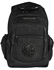 Harley-Davidson 3D Willie G Skull Classic Camo Backpack, Black BP3025S-CAMBLK