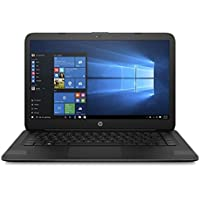 HP 14 Inch Laptop (New), Intel Celeron N3060 Processor, 4GB RAM, 32GB eMMC Storage, Office 365 Personal 1-year included, Windows 10 Home, Jet Black
