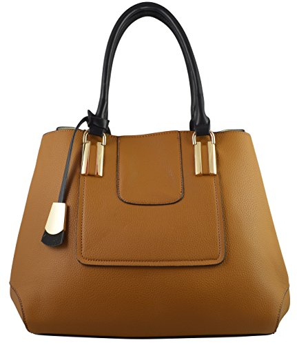 Lola Women's Elegant Touch Tote Satchel With Inside Pouch - Burch And Tori