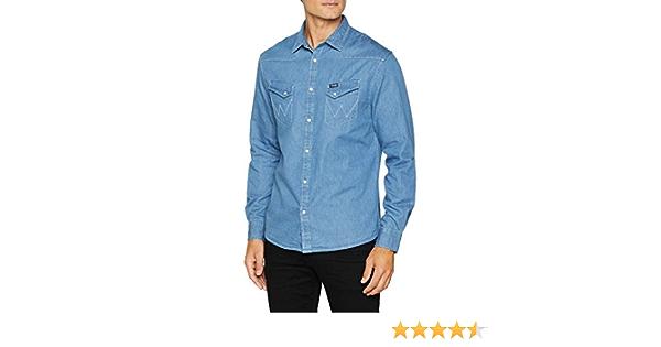 Wrangler Camisa Vaquera para Hombre