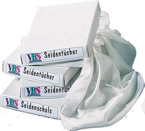 PEBEO ArtyS Fashion Fazzoletto di Seta Ponge 5 21.00 x 13.00 x 0.20 cm Bianco