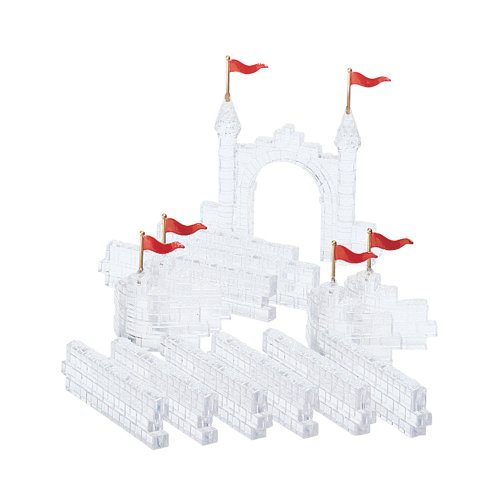 Village Ice Crystal Gate & Walls (Set of 14) - Department 56 (Retired)