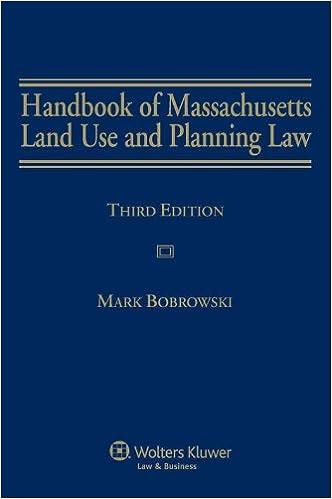 Handbook of Massachusetts Land Use and Planning Law, Third Edition
