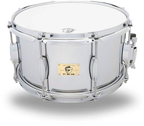 Pork Pie Hip Pig Chrome Steel Snare Drum 13 x 7 in.