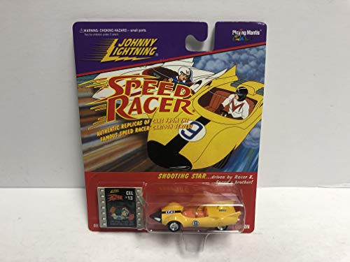 SPEED RACER Racer X Shooting Star Johnny Lightning Collectible diecast vehicle