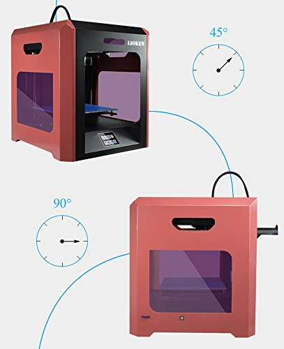 LIOKEN-3D-Printer-LK-V5-FDM-High-end-Sheet-Metal-Black-Red-Touch-Screen-LCD-Build-Size-79-x-79-x-79-PLAABSHIPSWoodPETGTPU-Best-Precision-Power-off-UPS