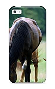 For Iphone 5c Protector Case Horse Wallpaper Phone Cover