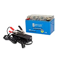 YTZ10S GEL Battery for Motorcycle Honda CB500X, F + 12V 2AMP Charger - Mighty Max Battery brand product