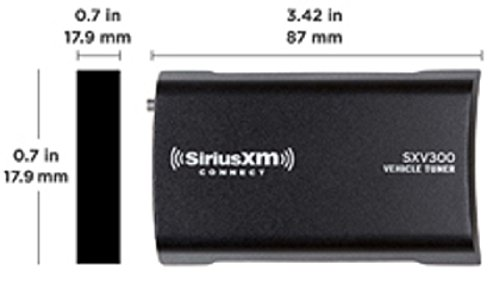 SiriusXM SXV300v1 Connect Vehicle Tuner Kit for Satellite Radio with Free 3 Months Satellite and Streaming Service by SiriusXM (Image #4)