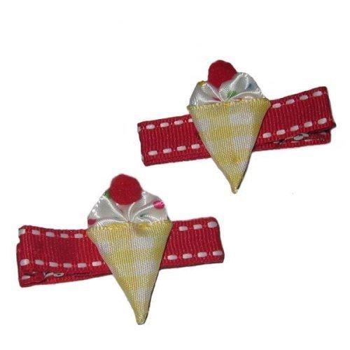 ice cream cone hair clip - 8
