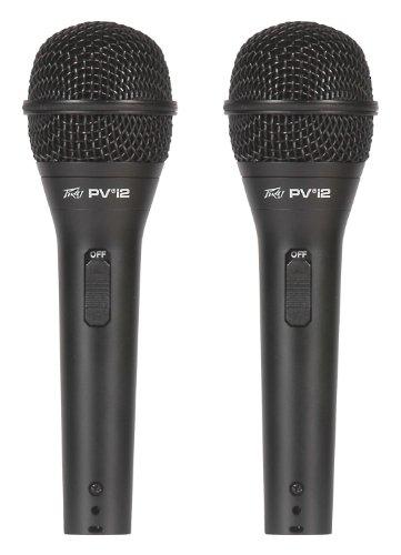 Peavey Pvi 2 Dynamic Microphone (Peavey Pvi 2 - 2-Pack Dynamic Cardiod Microphones)