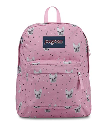 JanSport Superbreak Backpack - Fierce Frenchies - Classic, - Of Pics Puppies