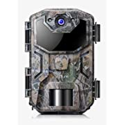 #LightningDeal Victure Trail Camera 16MP 1080 HD 2.0 inch LCD Game Cam Night Vision Motion Activated with Upgrade Waterproof Design 38Pcs IR LEDs No Glow for Wildlife Hunting and Surveillance