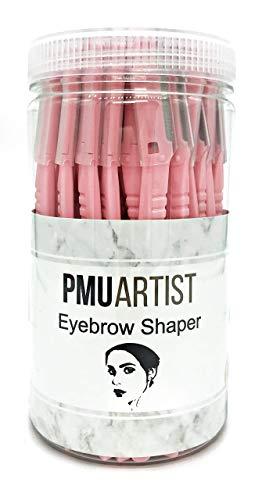 Eyebrow Razor Shaper with Safety Blade 48pcs