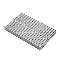 Value-Home-Tools - 100x60x10mm DIY Cooler Aluminum Heatsink Shape Radiator Grille Chip for IC LED Power Transistor sparkmaker SLA 3d printer parts by Value-Home-Tools