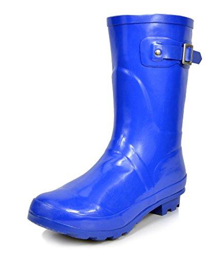 arctiv8 Women's Origin-Short Blue Gross Rubber Winter Snow Rainboots - 5 M US