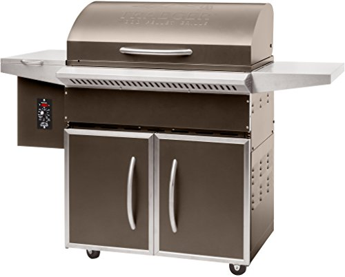 (Traeger Grills TFS60LZC Select Elite Pellet Grill and Smoker, 589 Sq. In. Cooking Capacity, Bronze )