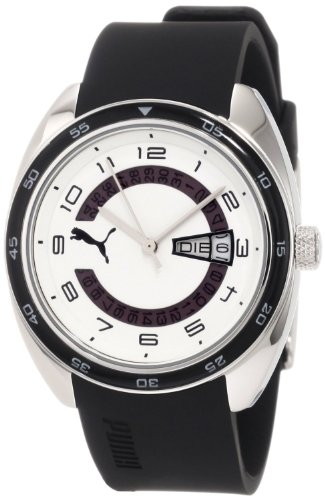 Puma Time Women's Quartz Watch Course S Black PU102522005 with Rubber Strap