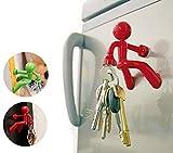 Fun Magnetic Man, Refrigerator Key Holder with