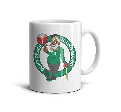 SOFIE MARTIN Tea Mugs 11Oz Don't-Reach-Young-Blood- Cute Drinks -
