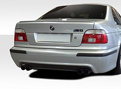 Duraflex Replacement for 1997-2003 BMW 5 Series E39 4DR M5 Look Rear Bumper Cover - 1 Piece ()