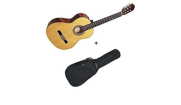 Pack Santos y Mayor 9B-3 – Guitarra 3/4 clásica de estudio + funda ...