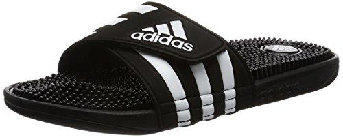 Piscina Adissage Hombre para Black y Zapatos Adidas Playa de Negro qfaXxwg