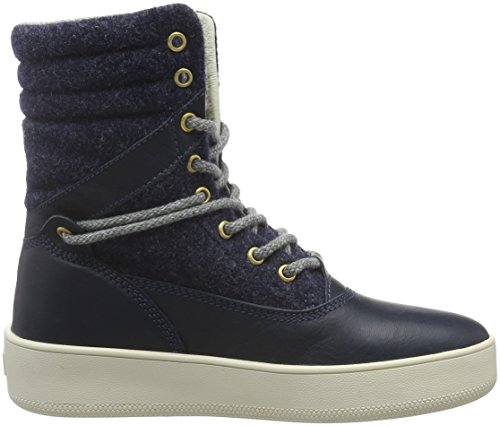 Blue NAPAPIJRI Nova N67 Blue Hi Dark Trainers Top FOOTWEAR Women's xYBn6YwqpP