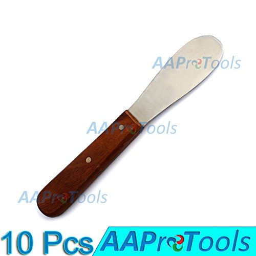 AAPROTOOLS 10× DENTAL LAB 8'' SPATULA 11R PLASTER ALGINATE MIXING STAINLESS STEEL END INSTRUMENT A+ QUALITY by AAPROTOOLS