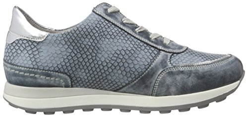 Remonte D1800, Baskets Femme Bleu (Royal/Argento/Denim / 14)