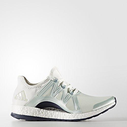 adidas Pureboost Xpose, Zapatos de Running para Mujer, Verde (verlin/acevap/balcri), 38 EU