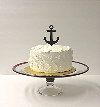 Amazon Anchor Wedding Cake Topper Nautical Wedding Cake