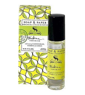 (Soap & Paper Factory Classic Verbena Perfume Oil, 0.3 Ounce)