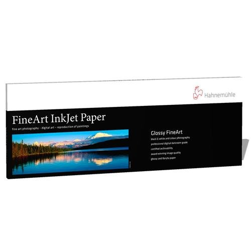 Hahnemuhle Photo Rag Baryta High-Gloss FineArt Inkjet Paper, Panoramic, 315gsm, 0.39mm, 8.27'' x 23.38'', 25 Sheets by Hahnemuhle