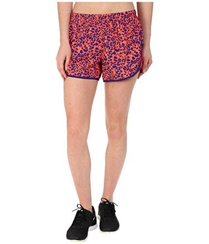 Nike Womens Dri-Fit Lotus Modern Tempo Running Shorts (XL X 3, Bright Crimson/Reflective Silver) ()