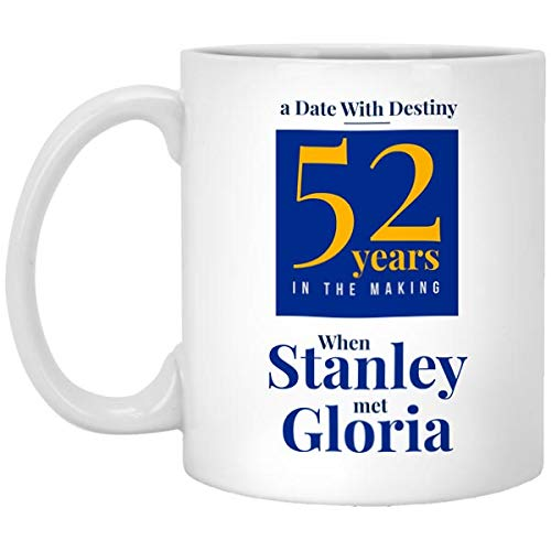 Celebrate The Big Win for St Louis Blues - Date with Destiny Coffee Mug for Sports Fans to Show Pride for Winning The Stanley Cup NHL Championship After 52 Years - 11 oz Dishwasher Safe