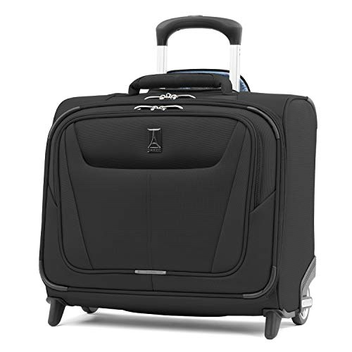 Travelpro Luggage Maxlite 5 16 Lightweight Carry-on Rolling Tote Suitcase, Black