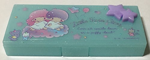 Sanrio Little Twin Stars Container Cosmetic Care Case Makeup Travel Cases (Yumekawa) ()