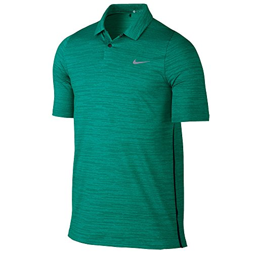 Tiger Woods Nike (Nike Tiger Woods TW Velocity Max Swing Knit Heather Golf Polo Medium (351)))